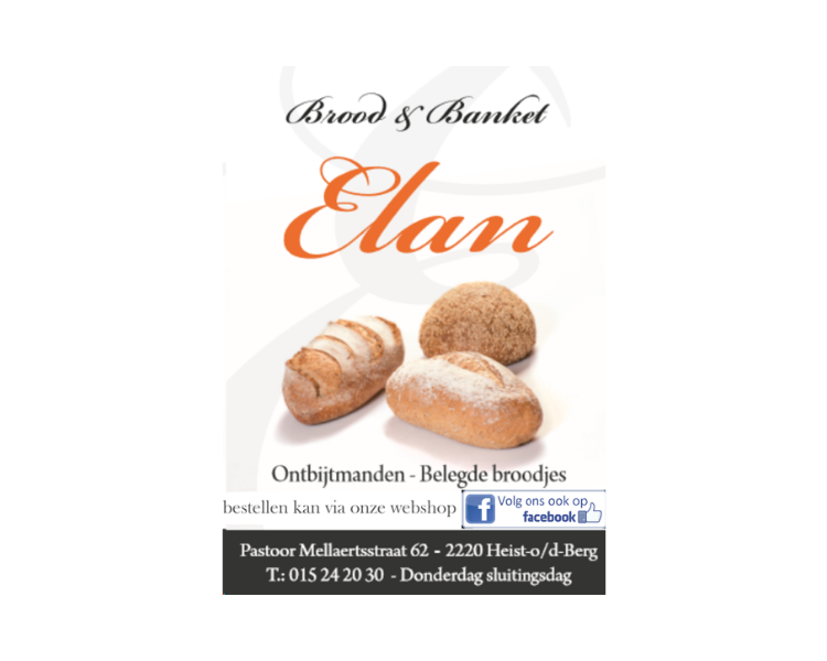 Brood & banket Elan